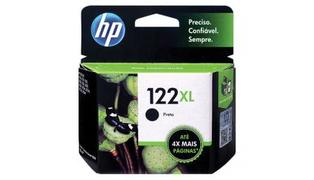 CARTUCHO P/ IMPRESSORA HP 122XL PRETO CH563HB 8.5ML