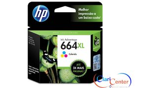 CARTUCHO P/ IMPRESSORA HP 664XL COLOR F6V30AB 8ML