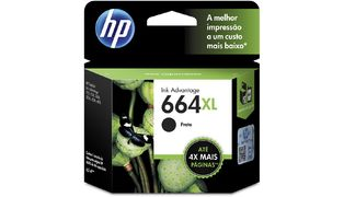 CARTUCHO P/ IMPRESSORA HP 664XL PRETO F6V31AB 8ML