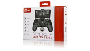 CONTROLE JOYSTICK MBTECH ANDROID/IOS GAMEPAD SMARTPHONE BLUETOOTH MB74210