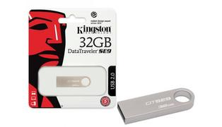 PENDRIVE 32GB KINGSTON SE9 PRATA