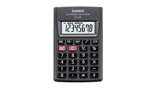 CALCULADORA DE BOLSO CASIO HL4A 8DIGITOS PT