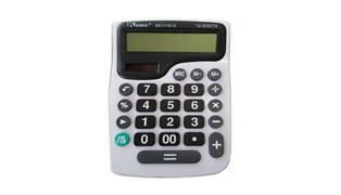 CALCULADORA DE MESA 12 DIGITOS KK-1119-12