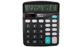 CALCULADORA DE MESA 12 DIGITOS PS-8837B HOOPSON
