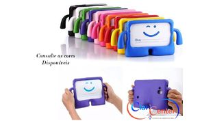 CAPA EMBORRACHADA PARA MINI IPAD1/2/3 IGUY (COLORIDA)