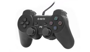 CONTROLE P/ PLAY III ANALOGICO COM FIO B-MAX BM-1206/VICTORY EY-903C