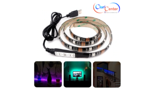 FITA DE LED 5050 RGB USB 2M