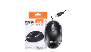 MOUSE MINI OPTICO HARDLINE USB FM-04 PRETO