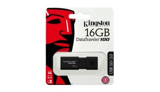 PEN DRIVE KINGSTON DATA TRAVELER 16 GB USB 3.0 DT100G3