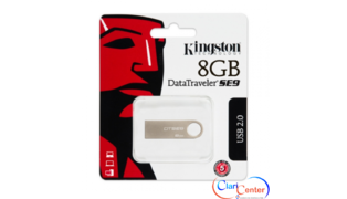 PENDRIVE 8GB KINGSTON SE9 PRATA