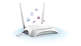ROTEADOR WIRELESS TL-MR3420 N 300MBPS 3G/4G