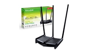ROTEADOR WIRELESS - TP LINK TL-WR941HP 450 MBP 3 ANTENAS 8DBI (B)